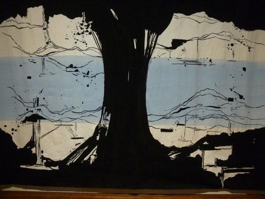 tapisserie contemporaine d'Olivier Nautalet