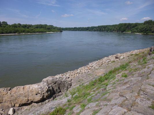 anciens quais sur le Danube