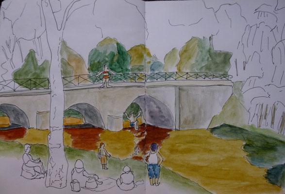 le Pont de Fleury par Daniel