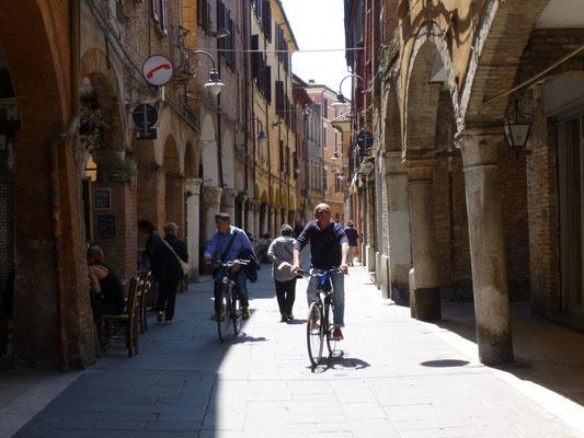 Ferrare, ville de cyclistes