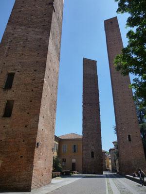 les tours de Pavie