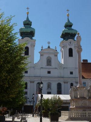 la cathédrale de Gyor