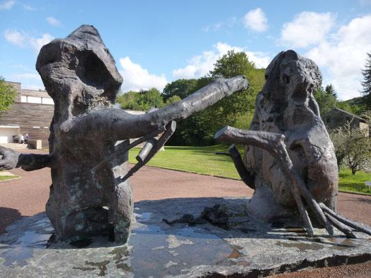Rebeyrolles - Adam et Eve, et dieu créa l'opression
