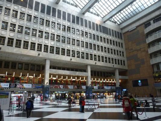 Taipei, hall de la gare centrale