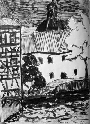 l'ancien hôtel de ville de Bamberg par Daniel