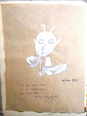 Picasso et Kazantzakis à Antibes, par Frédérique