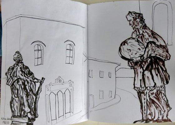Kutna Hora, dessin de Daniel