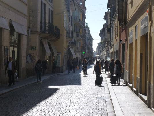 Une vieille rue de Pavie