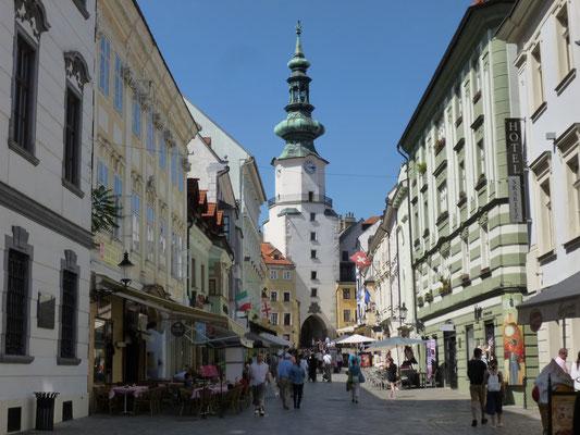 rue du vieux Bratislava