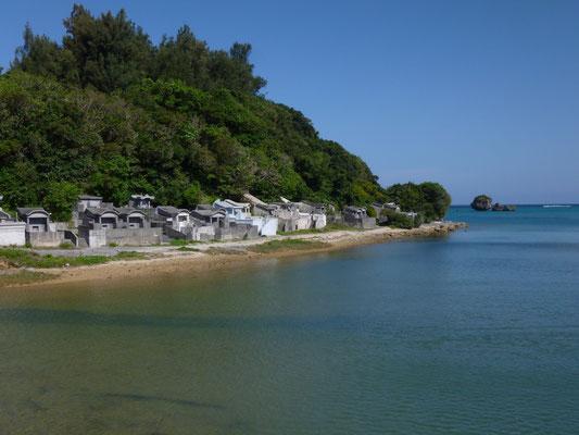 cimetière en bord de mer