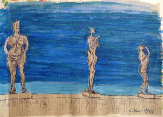 Germaine Richier au musée d'Antibes ( Frédérique)