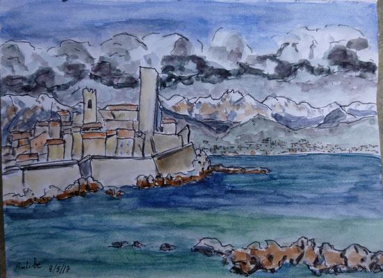 Le fort d'Antibes par Daniel