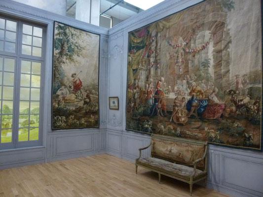 tapisseries anciennes tissées à Aubusson
