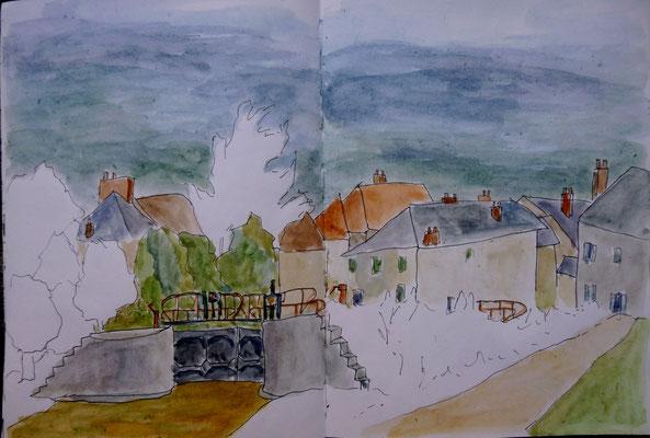 l'écluse de Châtillon en Bazois par Daniel