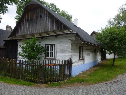 maison traditionnelle de Hlinsko