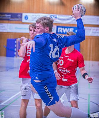 Kreisläufer Marius Többen fällt mit einer Bänderverletzung aus. Foto: Thomas Schmidt