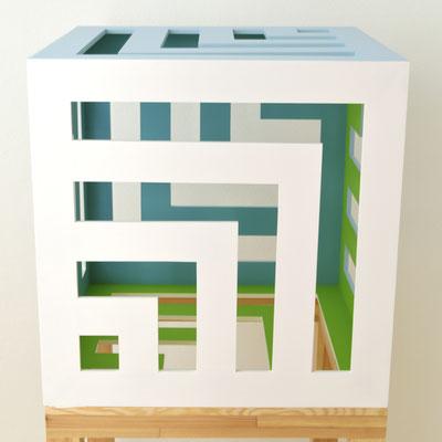 FIBURE - 2014 - 60 x 60 x 60 cm
