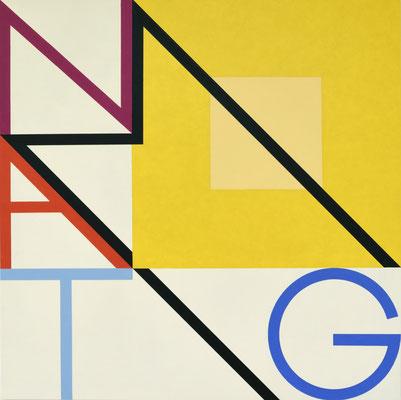 Montag III - 2012 - 88 x 88 cm