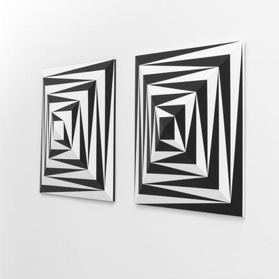 BIPOLAR - 2019 - 60 x 60 x 10 cm