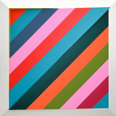 PARALAXON - 2015 - 60 x 60 x 10 cm
