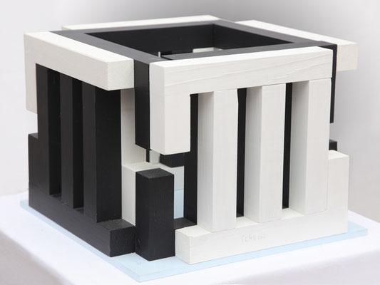 ATRIUM Modell(diagonale) - 2010 - 25 x 25 cm