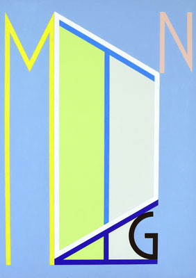 Montag VI - 2012 - 110 x 78 cm
