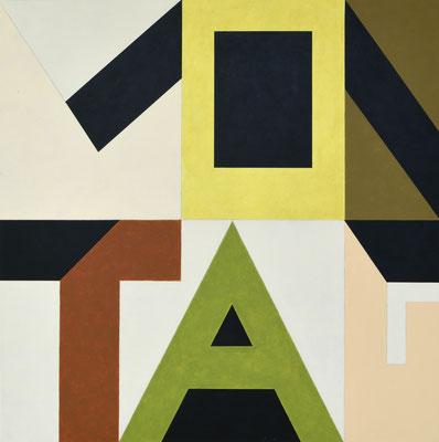 Montag II - 2012 - 88 x 88 cm