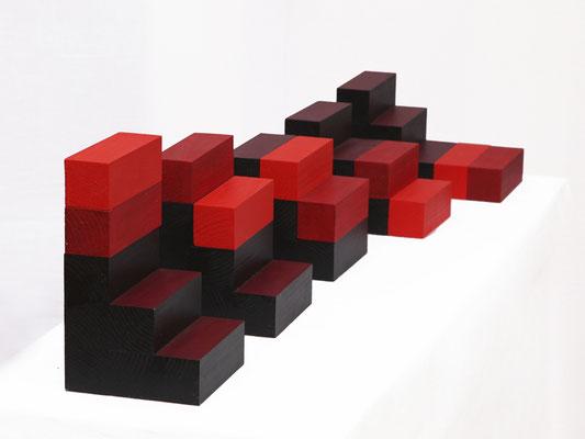 TREPPE Modell (seite) - 2010 - 70 x 25 cm