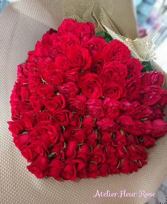 PB15 赤バラ108本