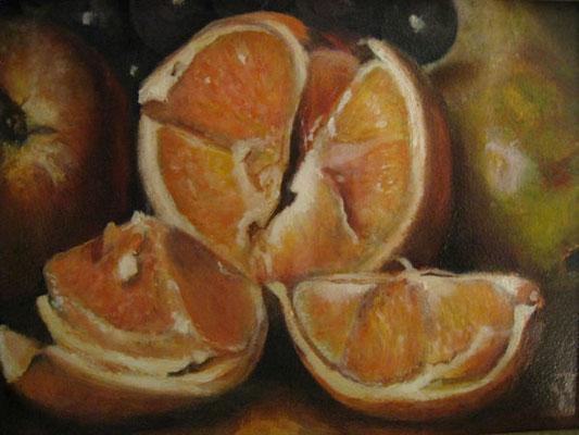 Detail uit een schilderij van Robert Spear Dunning 20x25 cm