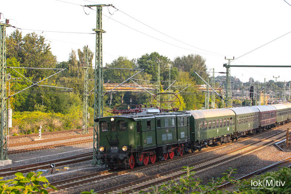Zum Heizhausfest mit dem Heizhausexpress zum Chemnitzer Hbf (08/2019)