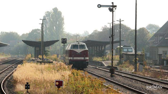 118 719-4 auf der Muldentalbahn (09/2016)