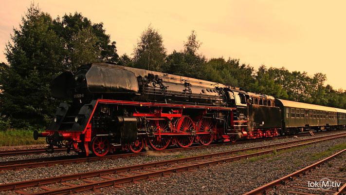 01 0509-8 im Bahnhof Marienberg (Erzgebirge) 08/2017