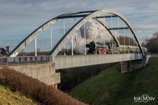 41 1144-9 in der neuen Landschaften bei Ronneburg 12/2018