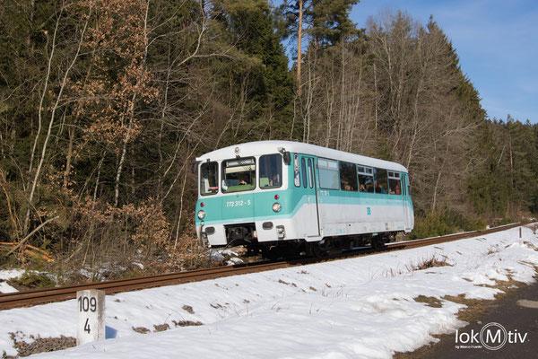 772 312-5 auf dem Weg nach Adorf (Vogtl.) (02/2019)