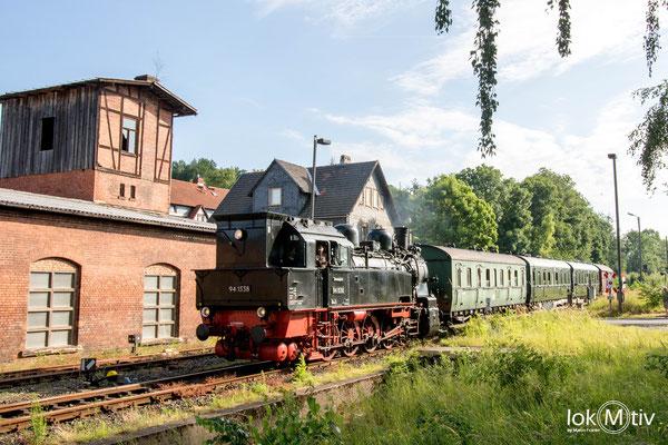 Einfahrt in Schleusingen