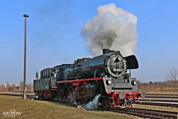 35 1097-1 im Eisenbahnmuseum Staßfurt 03/2018