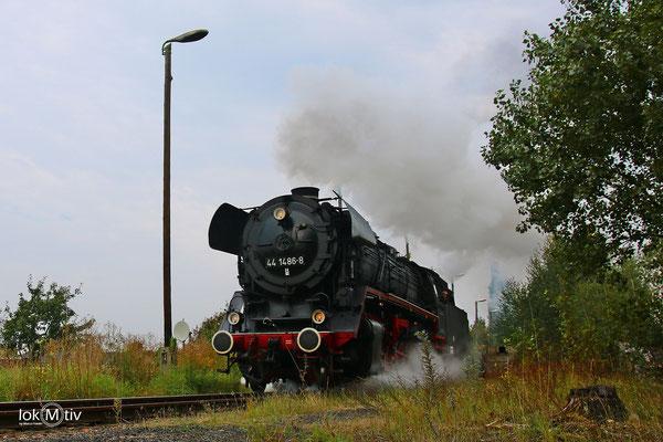 44 1486-8 im Eisenbahnmuseum Staßfurt 09/2017