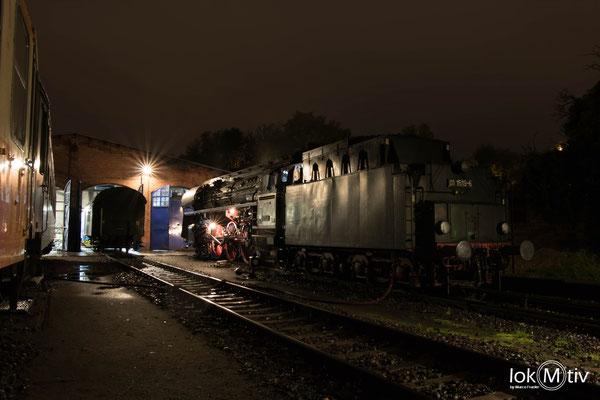 01 1519-6 im Eisenbahnmuseum Leipzig (10/2019)