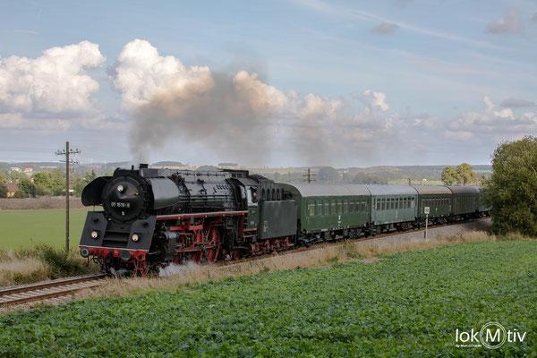 01 1519-6 zwischen Triptis und Pößnitz (10/2019)