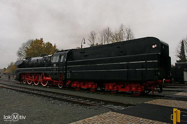 10 001 im Dampflokmuseum Neuenmarkt Wirsberg 11/2016