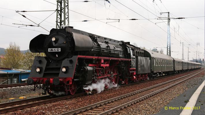 01 1519-6 in Coswig bei Dresden 04/2017