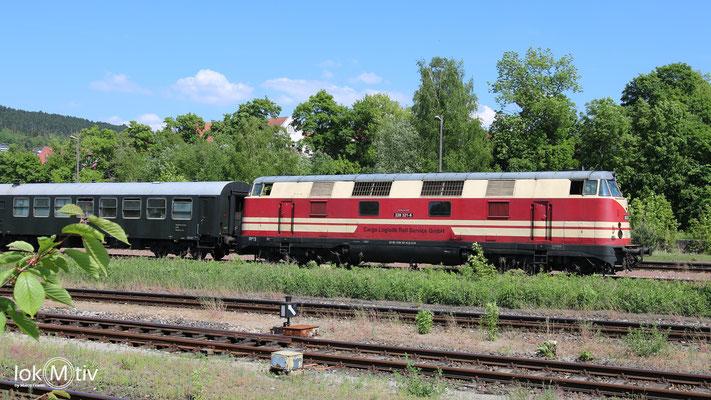 118 321-6 in Meinigen (05/2018)