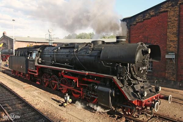 44 1486-8 im Sächsischen Eisenbahnmuseum Chemnitz 08/2017