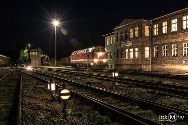 229 181-3 vor der Lokleitung im SEM (08/2019)