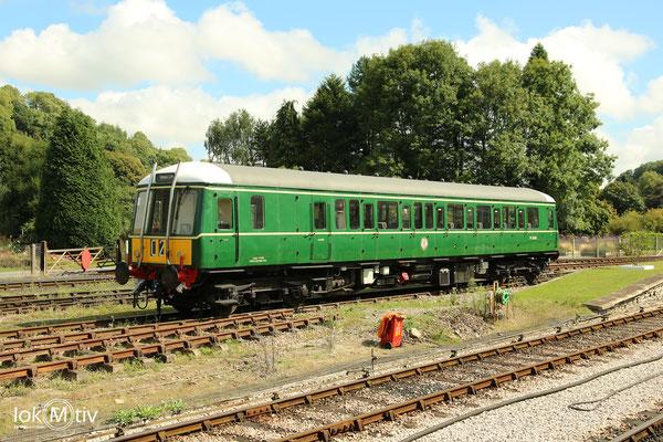 BR 55000 im Bahnhof von Buckfastleigh (08/2018)