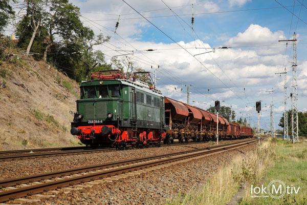 244 044 verlässt Eilenburg (09/2020)