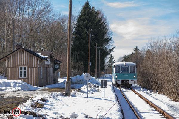 772 312-5 am Haltepunkt Gunzen (02/2019)