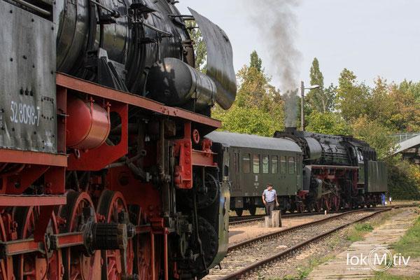 Zug abholen in Leipzig - Plagwitz