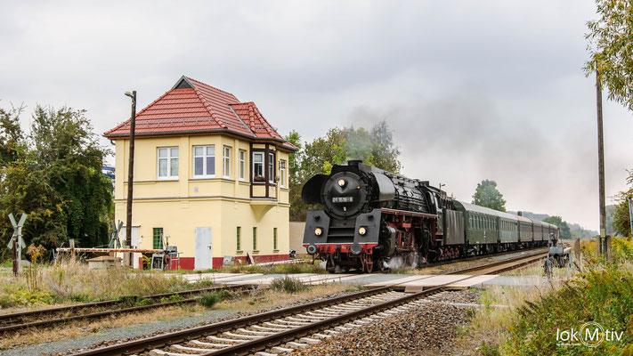 01 1519-6 durcheilt Reudnitz in Richtung Gera (10/2019)